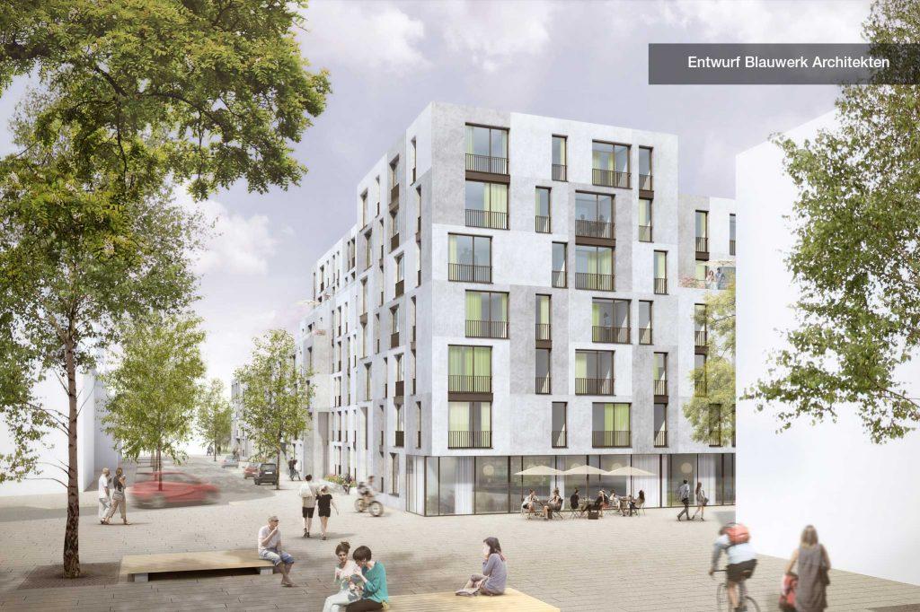 Entwurf Blauwerk Architekten Platz