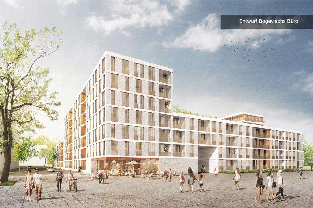 Entwurf Bogevischs Büro Straße