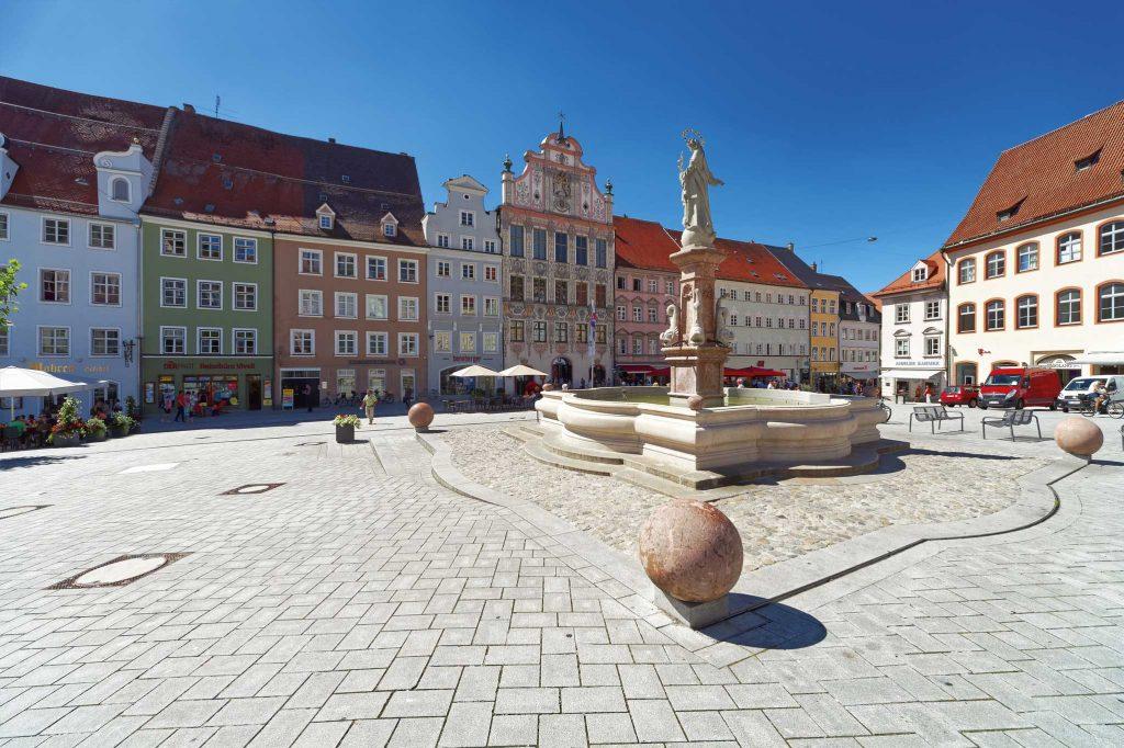 Hauptplatz in der Altstadt