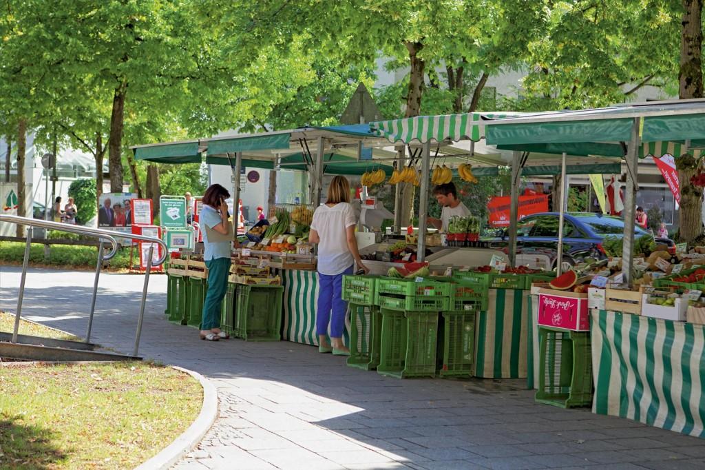 Markt im Zentrum