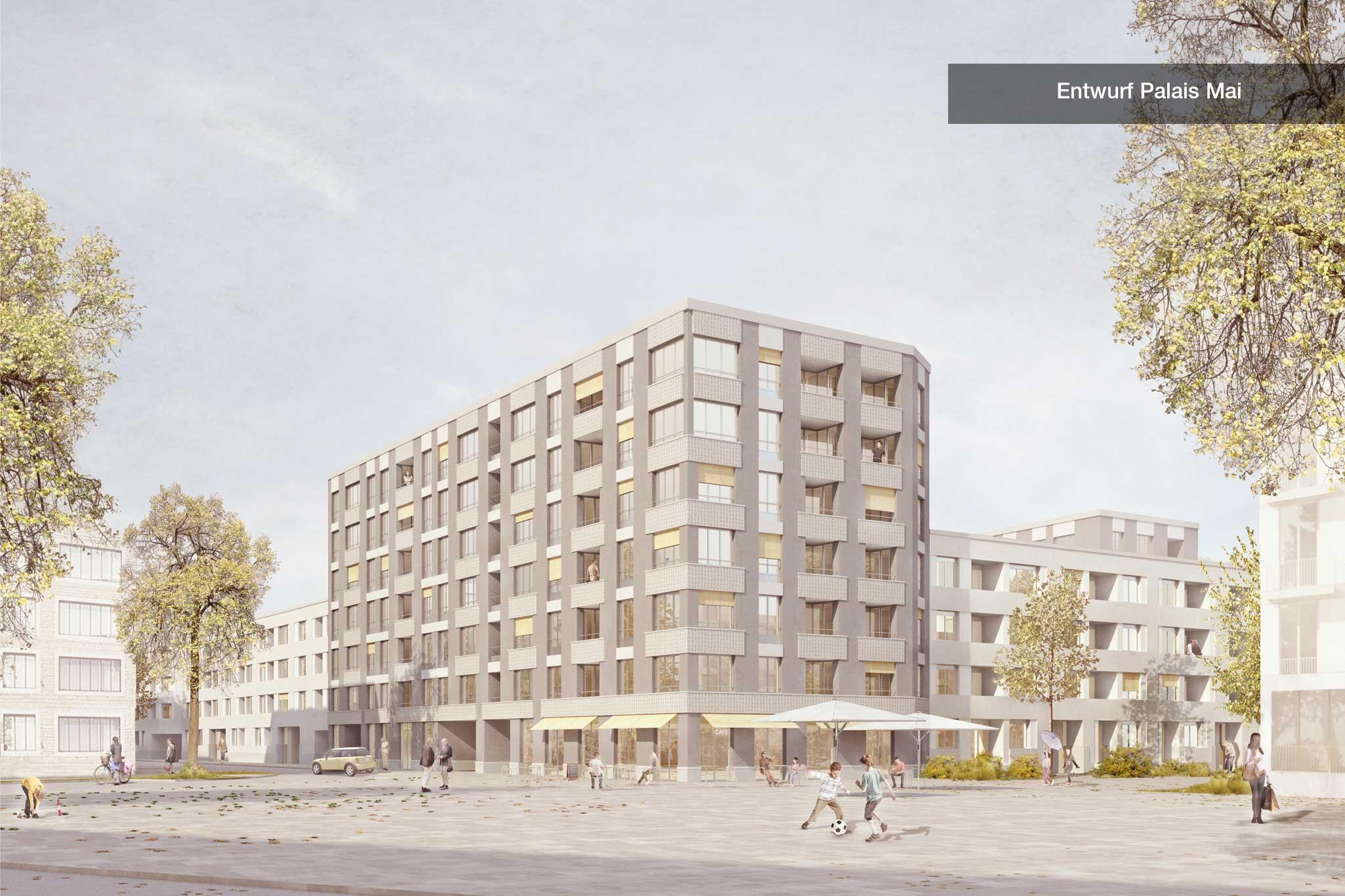 Entwurf Palaismai Platz