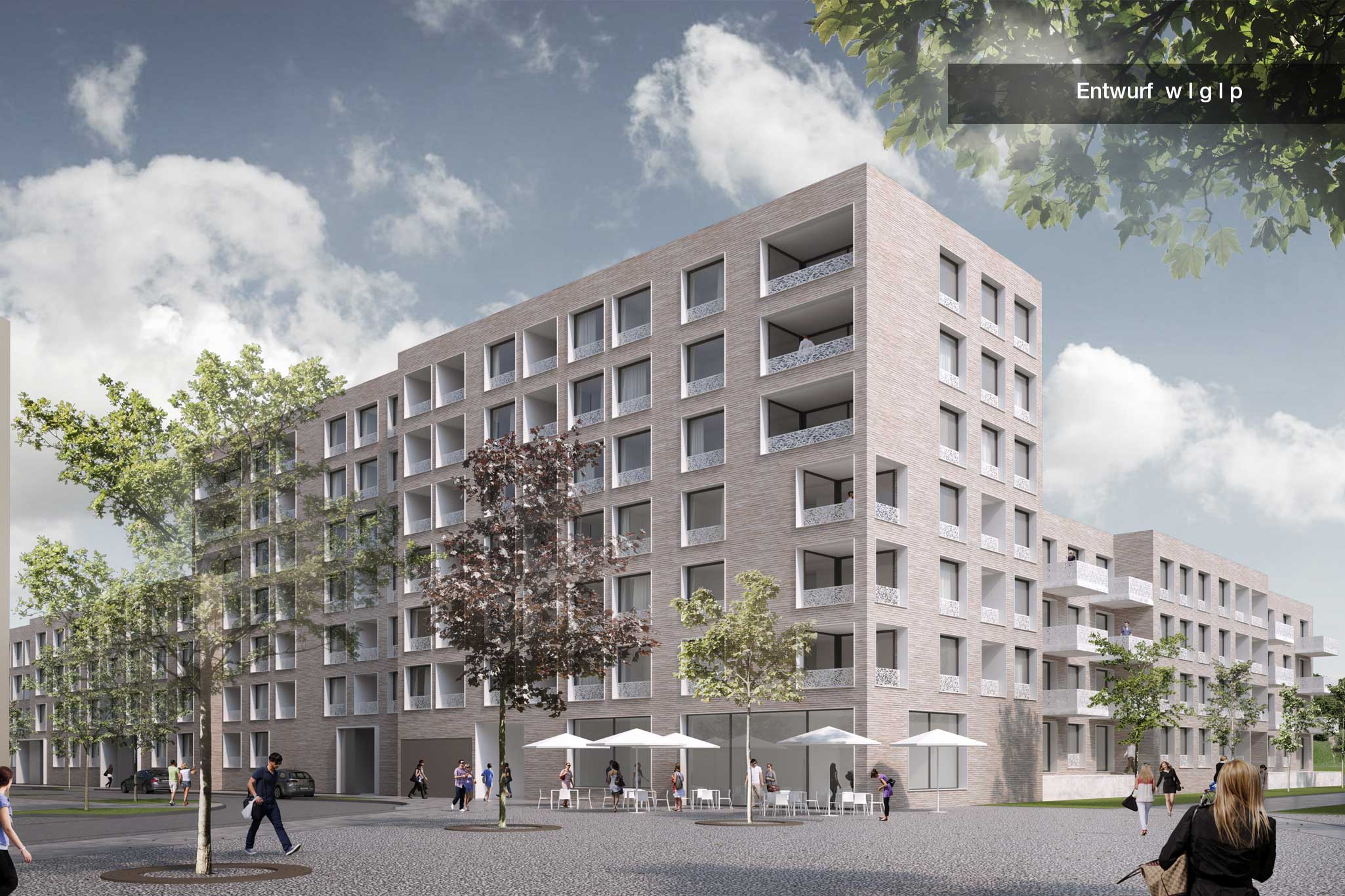 Entwurf WGP Architekten Außen