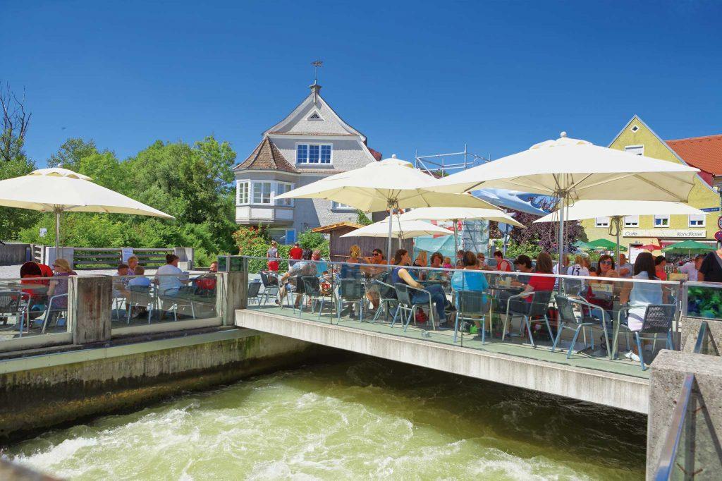 Café in der Altstadt