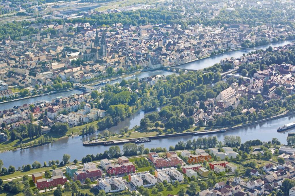 Regensburg Luftbild