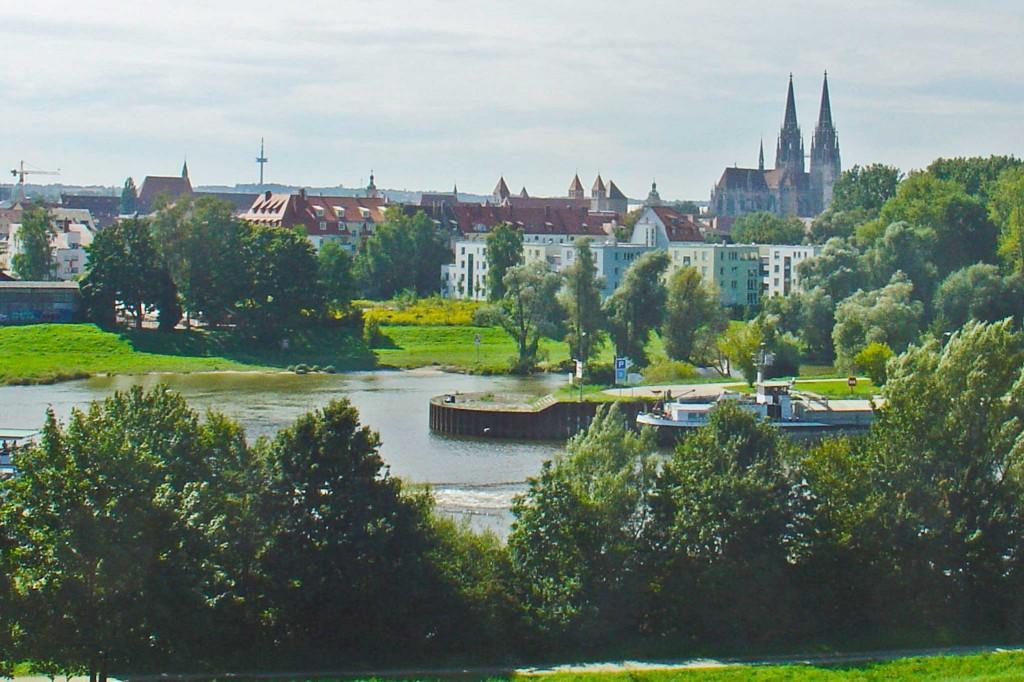 Blick auf Altstadt
