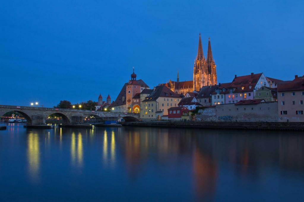 Altstadt zur Blauen Stunde